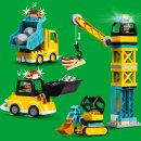 LEGO® DUPLO® 10933 Große Baustelle mit...