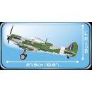 COBI-5708 280 PCS HC WWII /5708/ SUPERMARINE SPITFIRE MK.V