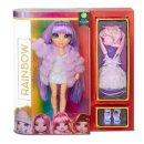 MGA  569602E7C Rainbow Surprise Fashion Doll- Violet