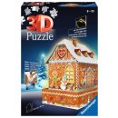 Ravensburger 3D Puzzle - 11237 Lebkuchenhaus Nightediton...