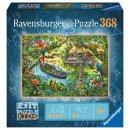 Ravensburger  12924 Pz. EXIT KIDS Dschungelsafari 368T