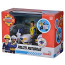 Simba  109251092   Feuerwehrmann Sam Polizei Motorrad mit...
