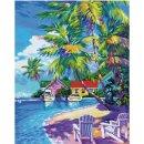 Schipper 609130830   Malen nach Zahlen Sonnige Karibik
