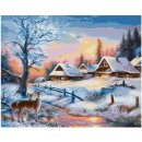 Schipper  609240833  Malen nach Zahlen Winterlandschaft