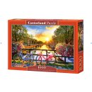 Castorland C-104536-2 - Picturesque Amsterdam with...