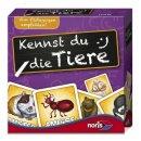 Noris 606071277 Mini-Lernspiel: Kennst du die Tiere