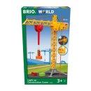 BRIO 63383500 - Großer Baukran mit Licht