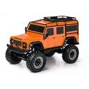 CARSON 500404171 - 1:8 Land Rover Defender 100% RTR orange