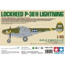 Tamiya 300025199 - 1:48 US P-38H  Lightning