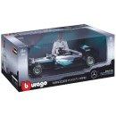Burago 18-18001  - 1/18 Scale - Mercedes F1 W07 Hybrid -...