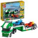 LEGO® Creator 31113 Rennwagentransporter