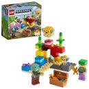 LEGO® Minecraft™ 21164 Das Korallenriff