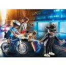 PLAYMOBIL 70573 Polizei-Fahrrad: Verfolgung d