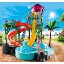 PLAYMOBIL 70609 Aqua Park mit Rutschen