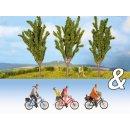 """NOCH 94009 Ausschmückungs-Set """"Fahrradfahrer..."""