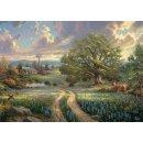 Schmidt Puzzle 58461 Thomas Kinkade: Country Living 1000...