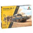 ITALERI 510006579 - 1:35 Crusader Mk.II m. Inf. F