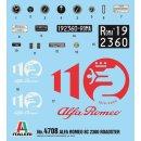 ITALERI 510104708 - 1:12 Alfa Romeo 8C/2300 1931-