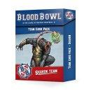 Games Workshop 200-41 2BLOOD BOWL: SKAVEN TEAM CARD PACK