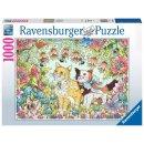 Ravensburger 1000 Teile - 16731 Kätzchenfreundschaft