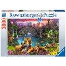Ravensburger 3000 Teile - 16719 Tiger in paradiesischer...