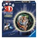 Ravensburger 3D Puzzle-Ball 72 T. - 11248 Raubkatzen...