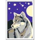 Ravensburger Malen nach Zahlen Serie F- 28773  Wolfsportrait