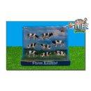 KIDS GLOBE 6-571878 Kühe schwarz weiß liegend...