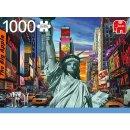 JUMBO 18861 PUZZLE New York Collage - 1000 Teile