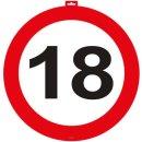 Folat 06118 Türschild 18 Verkehrsschilder 47cm