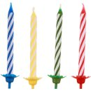 Folat 07799 Kerzenset Gesetzt Geburtstag Mit Halter /24+12