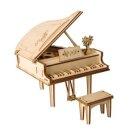 PICHLER Modellbau C1992 - Grand Piano (Lasercut Holzbausatz)