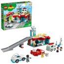 LEGO® DUPLO® 10948 Parkhaus mit Autowaschanlage