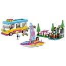 LEGO® Friends 41681 Wohnmobil- und Segelbootausflug