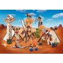 PLAYMOBIL 9899 Indianercamp mit Totempfahl (Polybeutel)