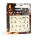 Games Workshop 52-05 WARHAMMER 40000: ADEPTA SORORITAS DICE