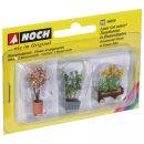 NOCH ( 14014 ) Zierpflanzen in Blumenkübeln H0