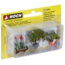 NOCH ( 14020 ) Zierpflanzen in Blumenkübeln H0