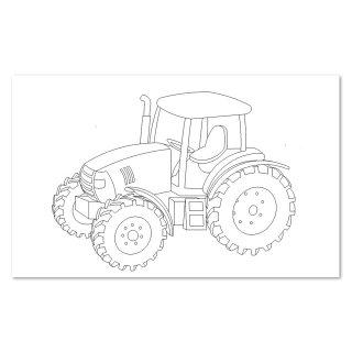 Laubsägev. Traktor