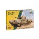 ITALERI 510007083 1:72 Brit. Churchill Mk. III