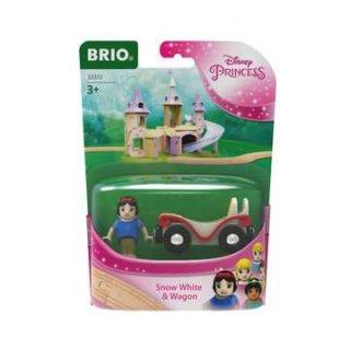 BRIO 33313 Disney Princess Schneewittchen mit Waggon