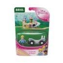 BRIO  33322 Disney Princess Cinderella mit Waggon