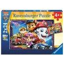 Ravensburger  05154 Kinderpuzzle Allzeit bereit! - 2x24...
