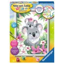 Ravensburger Malen nach Zahlen 28984 Süße Koalas