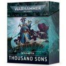Games Workshop 43-21 DATACARDS: THOUSAND SONS (DE)