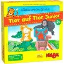 HABA 306068 Meine ersten Spiele – Tier auf Tier Junior
