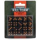 Games Workshop 102-82 KILL TEAM: ORK KOMMANDOS DICE SET