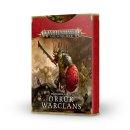 Games Workshop 89-04 WARSCROLL CARDS: ORRUK WARCLANS (DE)
