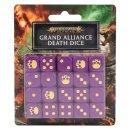 Games Workshop 80-21 GRAND ALLIANCE DEATH DICE SET
