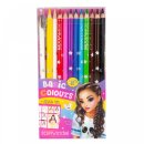 Depesche 006694 TOPModel Buntstifteset 12 Basic Farben